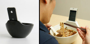 Самые необычные кухонные приспособления для iPhone
