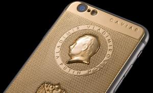 Яблочный фетиш. Золотые iphone с Путином, иконами, Днем победы…