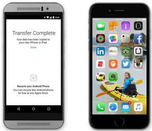 Apple предлагает переехать на iOS и выбросить свой Android-смартфон