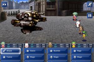 Обзор Final Fantasy VII для iOS