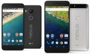 Google представила два новых Nexus