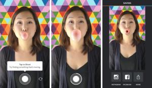Instagram представил приложение Boomerang для создания «живых» фото