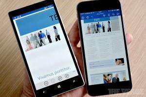 Microsoft показала необычный смартфон на iOS