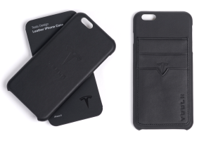 Tesla представила фирменные кожаные чехлы для iPhone