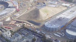Журналисты узнали, для чего предназначена гигантская «пирамида» около нового кампуса Apple