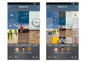 Samsung представила аналог Instagram — социальную сеть Waffle