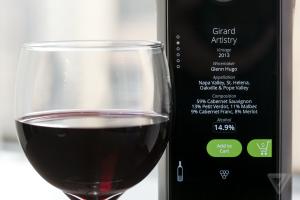 Создана «умная» бутылка для вина