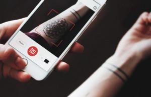 Мама не узнает: приложение InkHunter позволяет «примерить» татуировку на свое тело