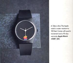 Apple уже выпускала свои часы — 30 лет назад состоялся дебют