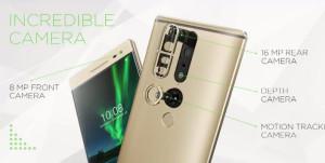 Lenovo представила первый смартфон с технологией Google Project Tango