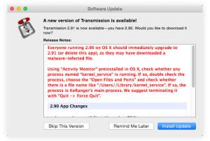 Эксперты: Mac нельзя использовать без антивируса