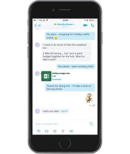 Skype реализовал возможность делиться небольшими файлами без доступа к Сети