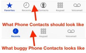 Что делать, если пропали Контакты в iPhone?