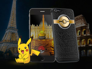 Ювелирный iPhone для игры Pokemon Go стоит 3000 долларов
