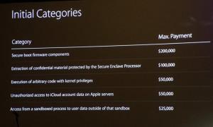 Apple объявила награду в 200 000 долларов за найденную уязвимость в программном обеспечении