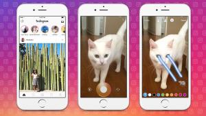 Как добавить уже сделанные фото и видео в «Истории» Instagram?