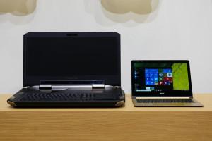 Acer представила самый тонкий в мире ноутбук с гнущимся дисплеем