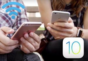 Как решить проблемы с интернетом в iOS 10
