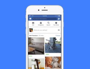 Facebook запускает свою площадку для продажи вещей