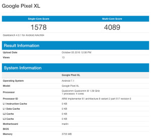 iPhone 7 победил Google Pixel в тестах производительности