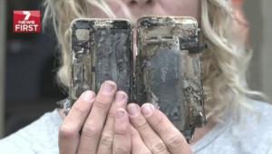 В Австралии сгорело авто, в салоне которого взорвался iPhone 7