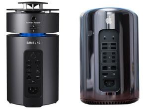 Samsung представил компьютер в стиле Mac Pro
