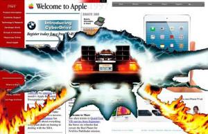Как менялся сайт Apple: 20 лет за три минуты