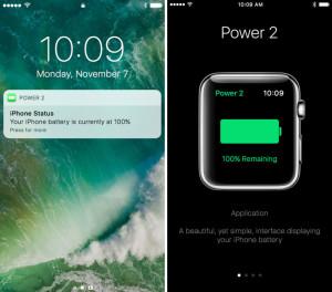 Представлено приложение, позволяющее контролировать заряд аккумулятора iPhone с помощью Apple Watch