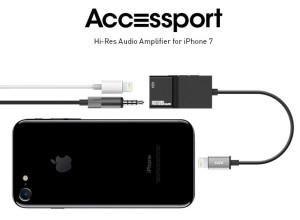 Accessport: аксессуар, который позволяет подключить наушники и зарядку одновременно