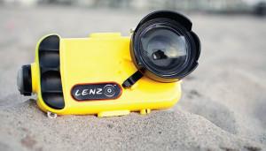 LenzO позволяет снимать на iPhone 7 на глубине до 100 метров