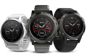Garmin представила три модели «умных» часов серии Fenix 5