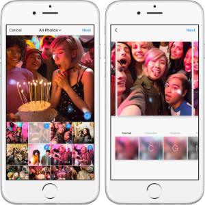 Instagram ввел галереи из нескольких фотографий