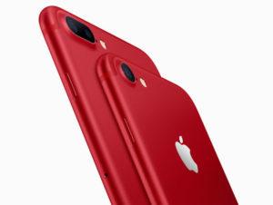 Apple представила красный iPhone