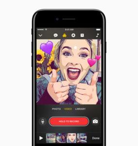 Apple представила приложение Clips: где-то мы это уже видели