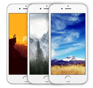 Опубликована 1000 бесплатных обоев для iPhone