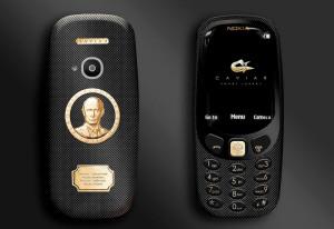 Caviar выгравировали Путина на новой Nokia 3310 и продают дороже iPhone 7