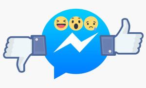 Facebook тестирует кнопку «дизлайка» в Messenger