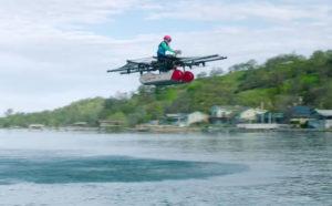 Стартап сооснователя Google представил летающий автомобиль