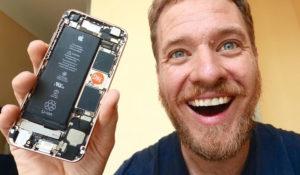Американец купил китайские запчасти и собрал себе iPhone за 300 долларов