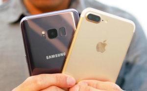5 функций, которые есть у Galaxy S8 и нет у iPhone 7
