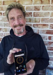 Создатель антивируса McAfee представил полностью защищенный телефон