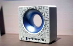 ASUS представила необычный маршрутизатор Blue Cave
