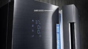 Samsung представила умный холодильник из керамики с Bluetooth и телевизором
