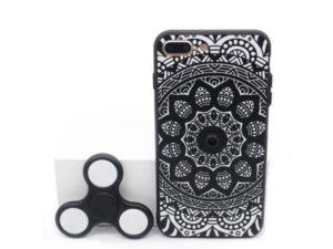 «Антистрессовый» чехол для iPhone оборудован встроенным Fidget Spinner