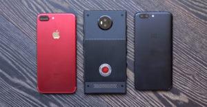 RED показала первый в мире голографический смартфон