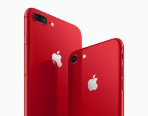 Apple представила красные iPhone 8 и iPhone 8 Plus в поддержку борьбы с ВИЧ и СПИДом