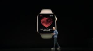 Новые «безрамочные» Apple Watch Series 4 с функцией электрокардиограммы