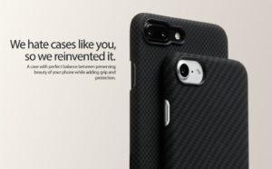 PITAKA Aramid Fiber Minimalist: самый тонкий и прочный чехол для iPhone