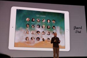 Apple представила 9,7-дюймовый iPad для школьников и студентов